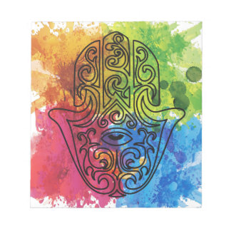 Wellcoda Vibrant Indian Symbol Asian Life Notepad