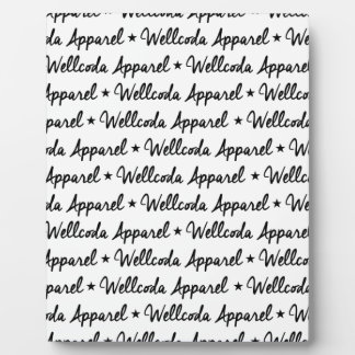 Wellcoda Vintage Apparel Font Dream Land Display Plaque