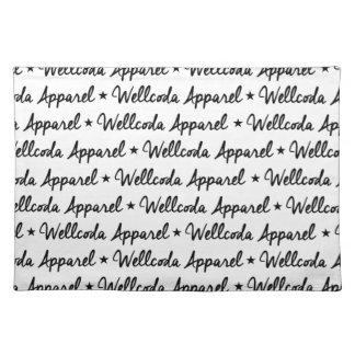 Wellcoda Vintage Apparel Font Dream Land Placemat