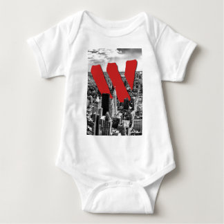 Wellcoda Vintage Apparel NYC New York Fun Baby Bodysuit