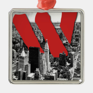 Wellcoda Vintage Apparel NYC New York Fun Christmas Ornament