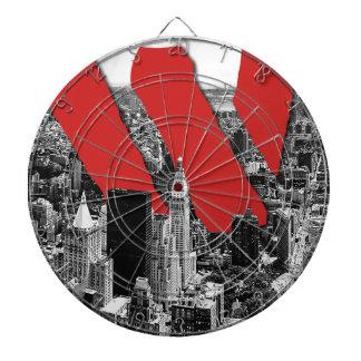 Wellcoda Vintage Apparel NYC New York Fun Dartboard