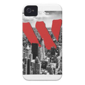 Wellcoda Vintage Apparel NYC New York Fun iPhone 4 Case-Mate Cases
