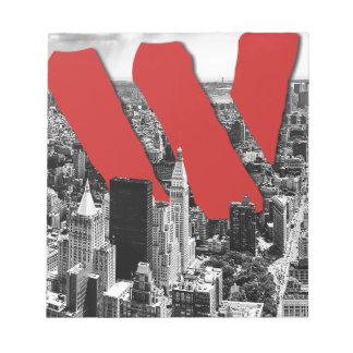 Wellcoda Vintage Apparel NYC New York Fun Notepad