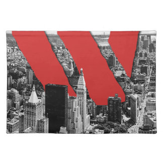 Wellcoda Vintage Apparel NYC New York Fun Placemat