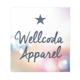 Wellcoda Vintage Apparel Star Dream Land Notepad