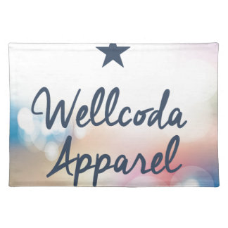 Wellcoda Vintage Apparel Star Dream Land Placemat