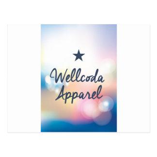 Wellcoda Vintage Apparel Star Dream Land Postcard