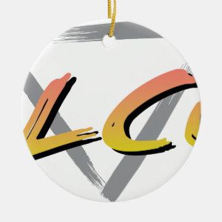Wellcoda Vintage Apparel Style Triangle Christmas Ornament