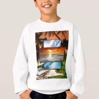 Wellcoda Vintage Beach Life Holiday Love Sweatshirt