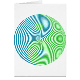 Wellcoda Visual Confusion Cool Yin Yang Card