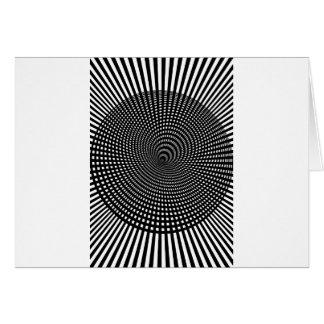Wellcoda Visual Hallucination False Image Greeting Card