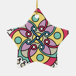 Wellcoda Wicked Flower Style Crazy Look Christmas Ornament