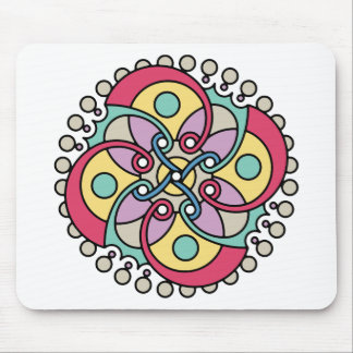 Wellcoda Wicked Flower Style Crazy Look Mouse Pad