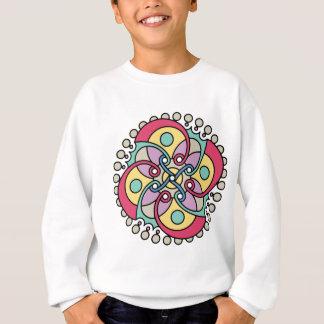 Wellcoda Wicked Flower Style Crazy Look Sweatshirt