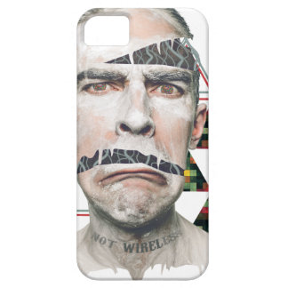 Wellcoda Wifi Wireless Human Sad Face iPhone 5 Cover
