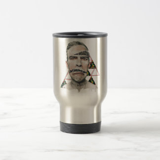 Wellcoda Wifi Wireless Human Sad Face Travel Mug