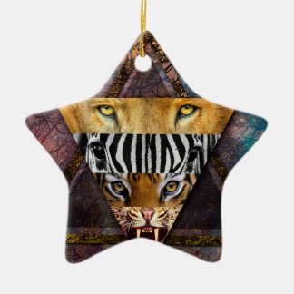 Wellcoda Wild Animal Adventure Wildlife Fun Christmas Ornament