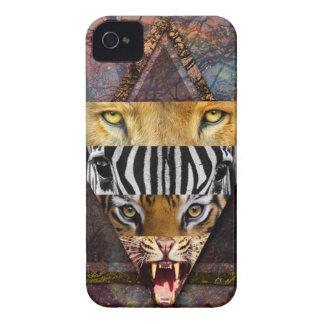 Wellcoda Wild Animal Adventure Wildlife Fun iPhone 4 Case-Mate Cases
