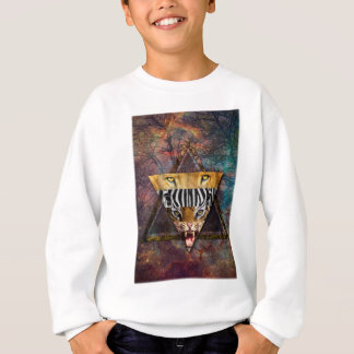 Wellcoda Wild Animal Adventure Wildlife Fun Sweatshirt
