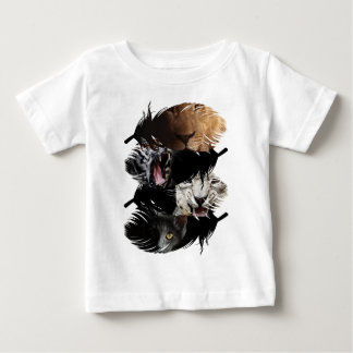 Wellcoda Wild Animal Family Creature Bond Baby T-Shirt