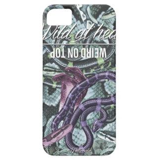 Wellcoda Wild At Heart Snakes Cobra Venom iPhone 5 Cases
