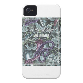 Wellcoda Wild At Heart Weird On Top Snake iPhone 4 Case-Mate Case