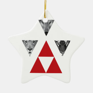 Wellcoda Wild Dangerous Animals Wildlife Christmas Ornament