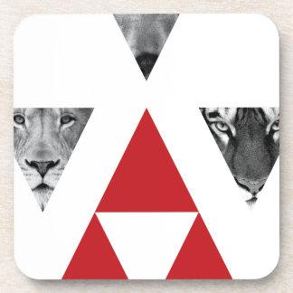 Wellcoda Wild Dangerous Animals Wildlife Coaster