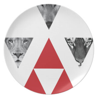 Wellcoda Wild Dangerous Animals Wildlife Plate