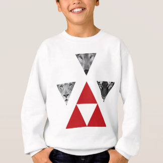 Wellcoda Wild Dangerous Animals Wildlife Sweatshirt