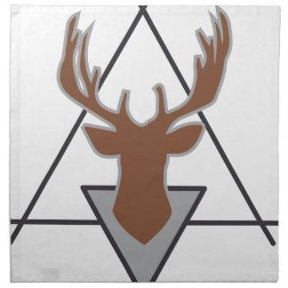 Wellcoda Wild Deer Stag Animal Big Game Napkin