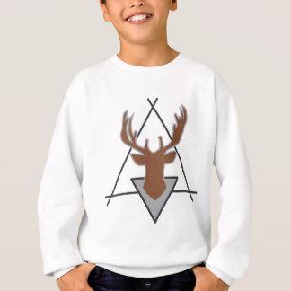 Wellcoda Wild Deer Stag Animal Big Game Sweatshirt