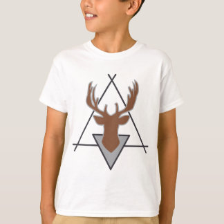 Wellcoda Wild Deer Stag Animal Big Game T-Shirt