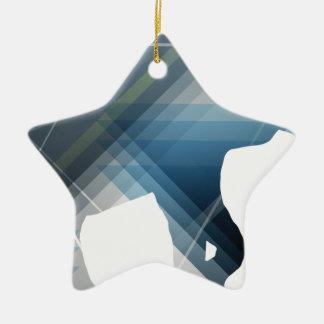 Wellcoda Wild Elephant Print Nature Love Christmas Ornament
