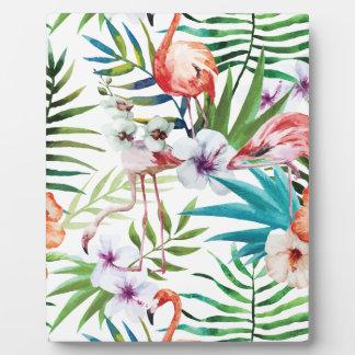 Wellcoda Wild Flamingo Life Paradise Bird Photo Plaques