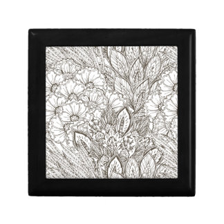 Wellcoda Wild Nature Plants Flower Bloom Small Square Gift Box