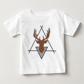 Wellcoda Wild Stag Deer Animal Hunt Month Baby T-Shirt