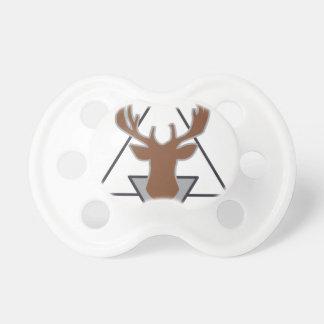 Wellcoda Wild Stag Deer Animal Hunt Month Pacifiers