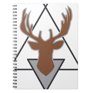 Wellcoda Wild Stag Deer Animal Hunt Month Spiral Notebook