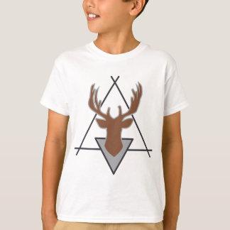 Wellcoda Wild Stag Deer Animal Hunt Month T-Shirt