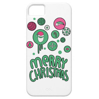 Wellcoda Winter Celebration Santa Claus iPhone 5 Cover