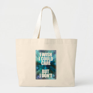 Wellcoda Wish Careless Care Outer Space Large Tote Bag