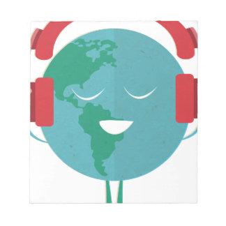 Wellcoda World Beats Music Global Tune Notepad