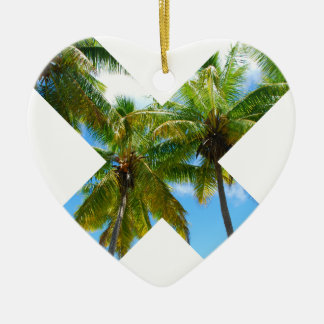Wellcoda X Cross Paradise Vote Holiday Fun Christmas Ornament