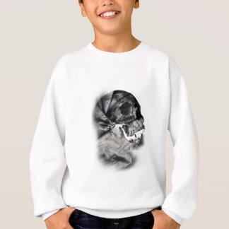 Wellcoda XRay Skull Head Scan Human Face Sweatshirt