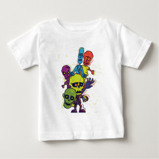 Wellcoda Zombie Apocalypse Monster Family Baby T-Shirt