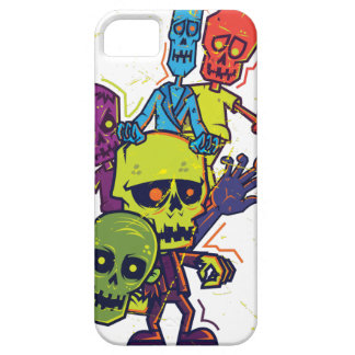 Wellcoda Zombie Apocalypse Monster Family iPhone 5 Cases