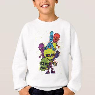 Wellcoda Zombie Apocalypse Monster Family Sweatshirt