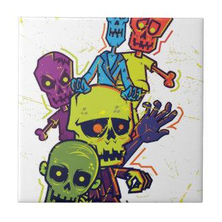 Wellcoda Zombie Apocalypse Monster Family Tile